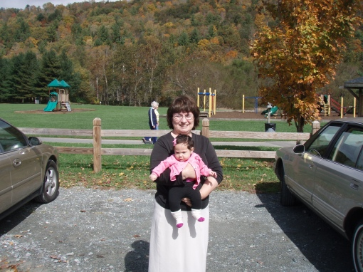 Rosemary and Marmie at Valle Crucis Park